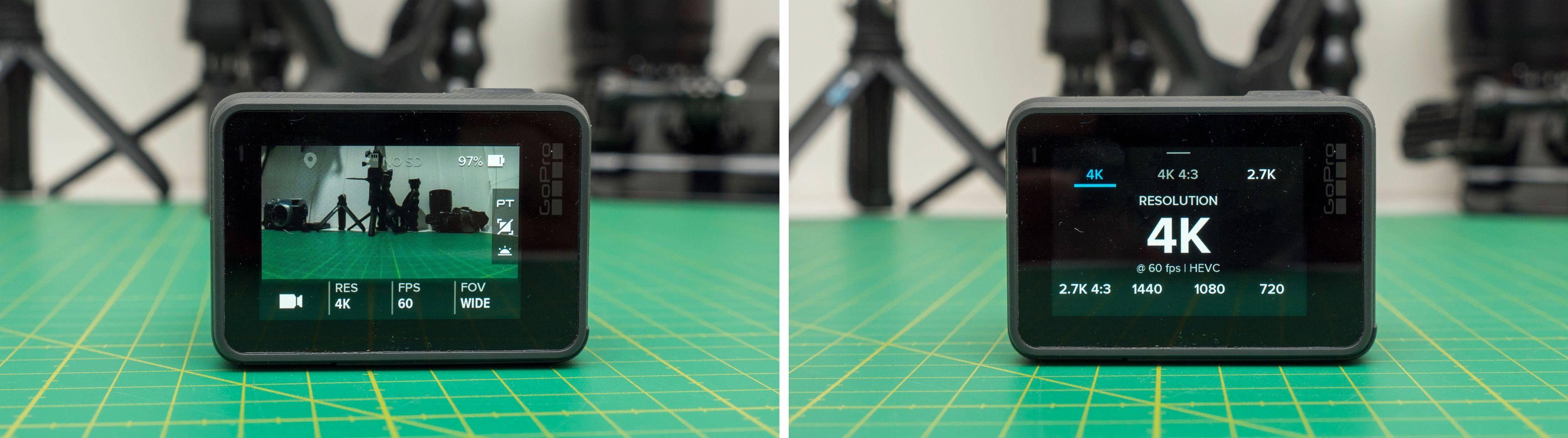 Kameraet er superenkelt å bruke via berøringsskjermen, men ikke like enkelt uten.