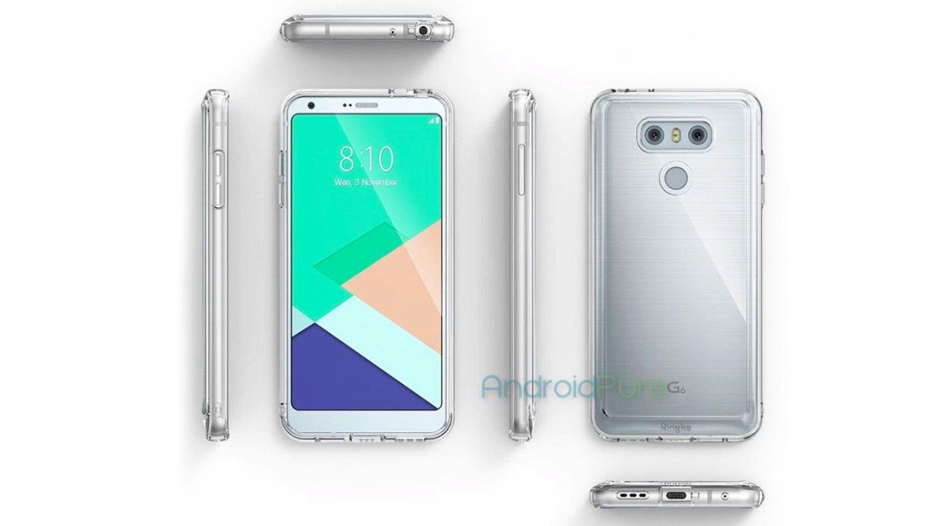 LG G6 sitt design er sannsynligvis lekket i sin helhet