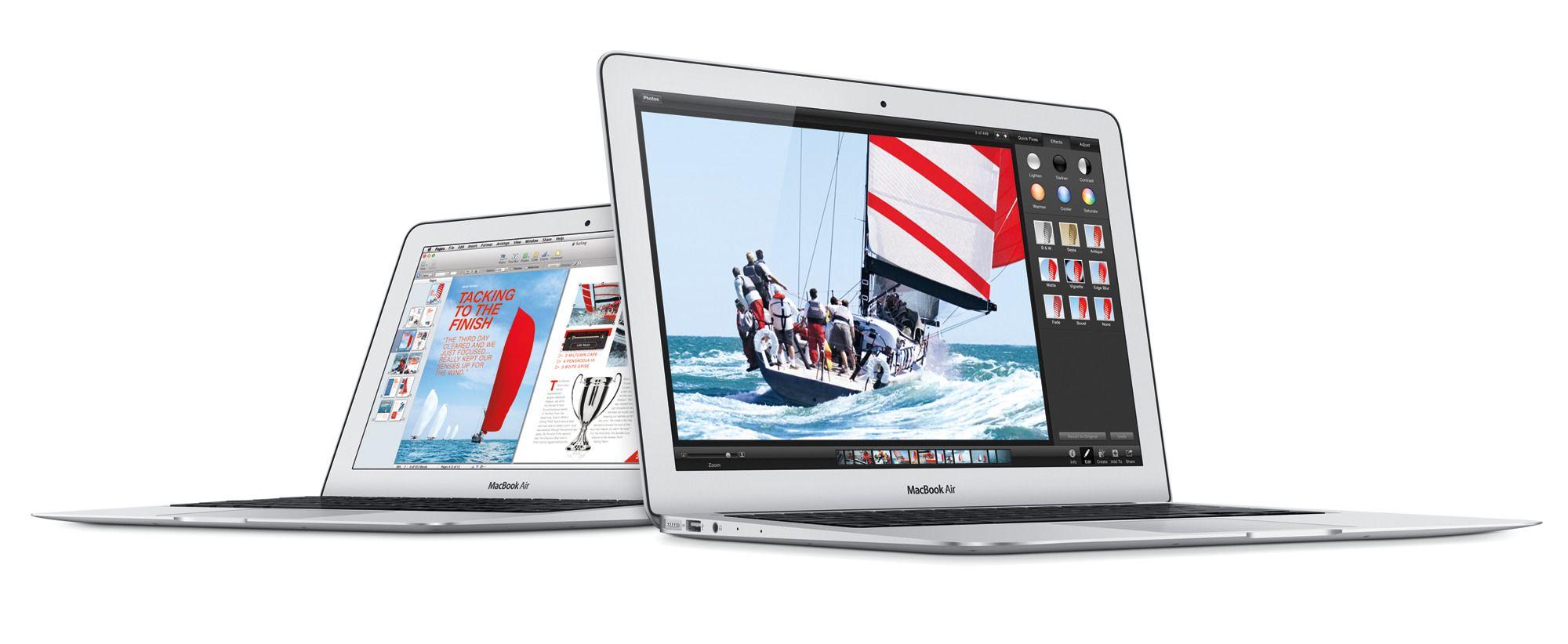 MacBook Air kommer trolig i Retina-utgave.Foto: Apple