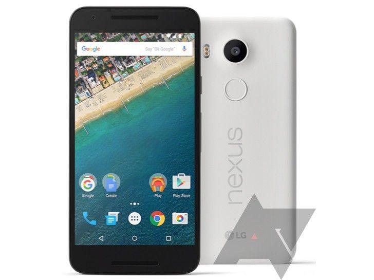 LG skal ha fått æren av å produsere Nexus 5P, en modell med rett over fem tommer stor skjerm, og muligens et lite slektskap tilbake til Nexus 5. Foto: Android Police