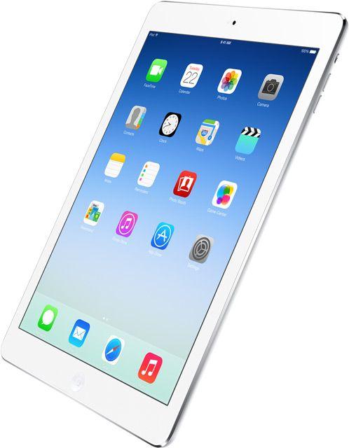 iPad Air med omslaget intakt.Foto: Apple