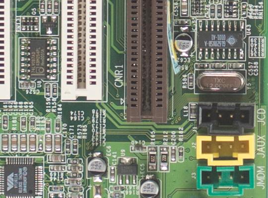 Utsnitt av hovedkort, f5,6 @ ISO 100 (RAW) Samsung NX300.