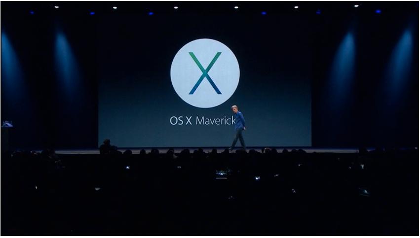 OS X Mavericks er navnet på det nyeste operativsystemet til Apple.Foto: Apple