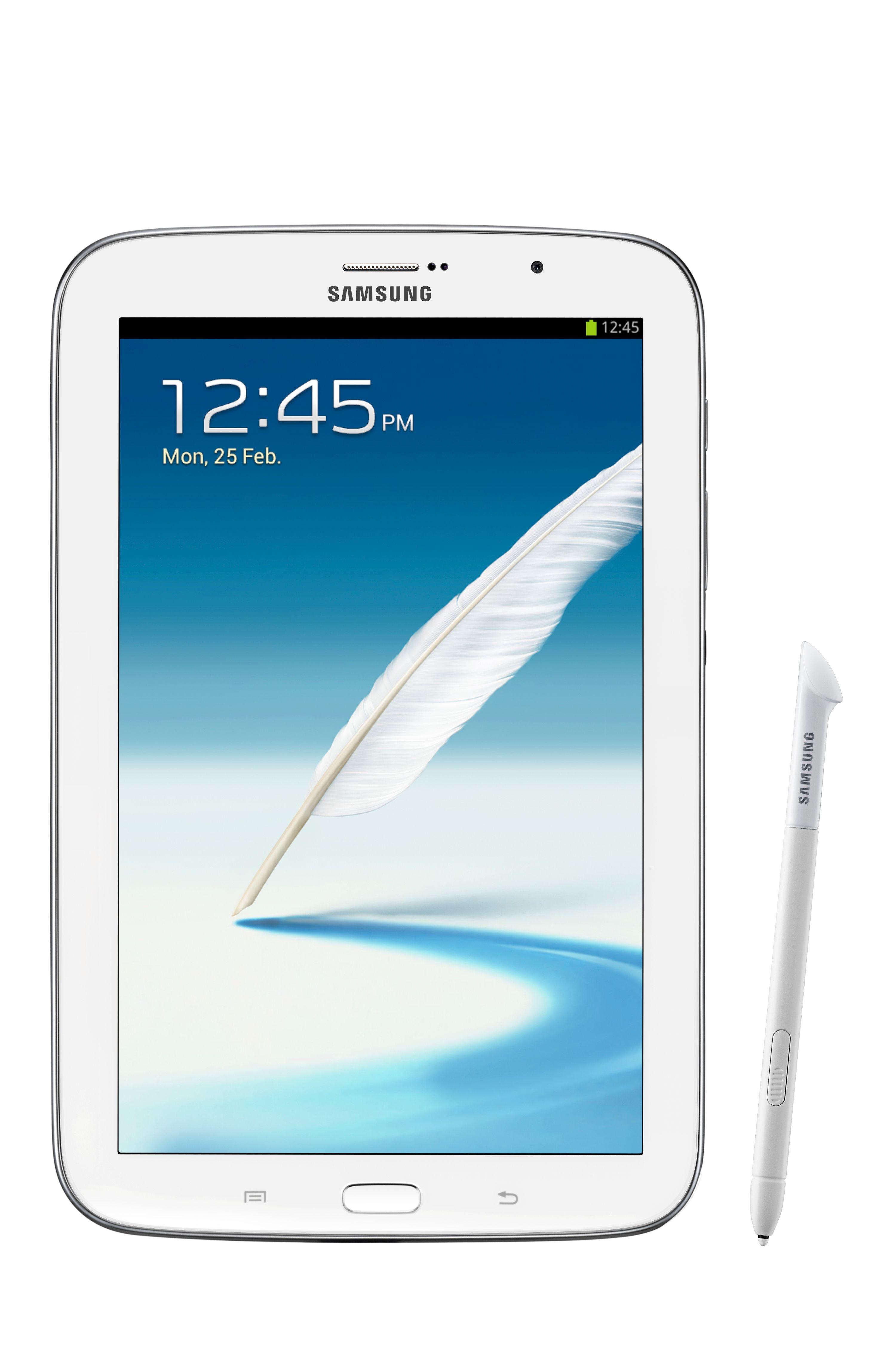 Galaxy Note 8.0 ser litt ut som en forvokst Galaxy Note II.Foto: Samsung