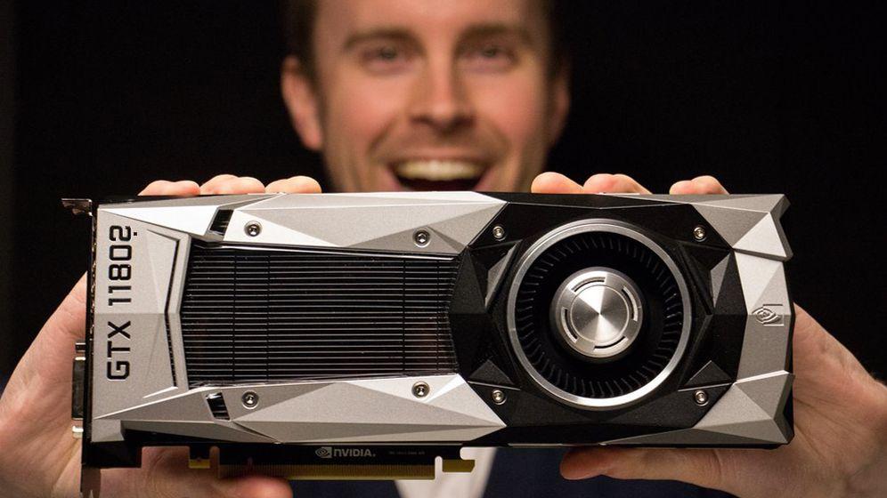 – Neste generasjon Nvidia-kort kommer i april