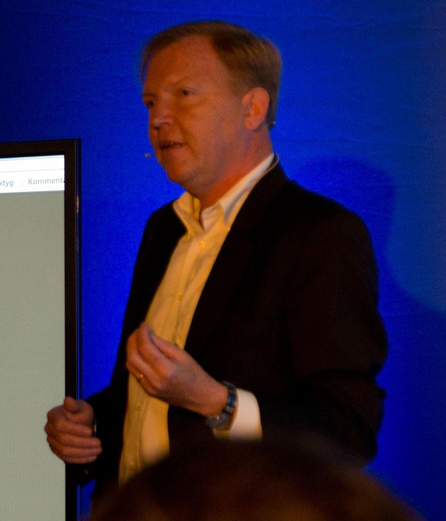 Sjefen for HBO Nordic, Hervé Payan.Foto: Rolf B. Wegner, Hardware.no