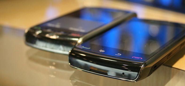 Slik ser Blackberry Storm 2 ut
