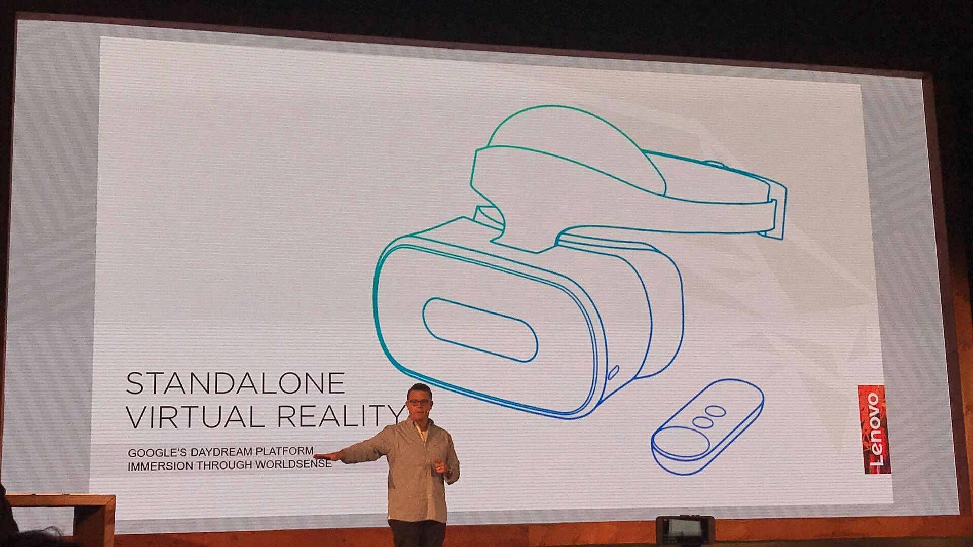 Daydream implementeres i Mirage AR.