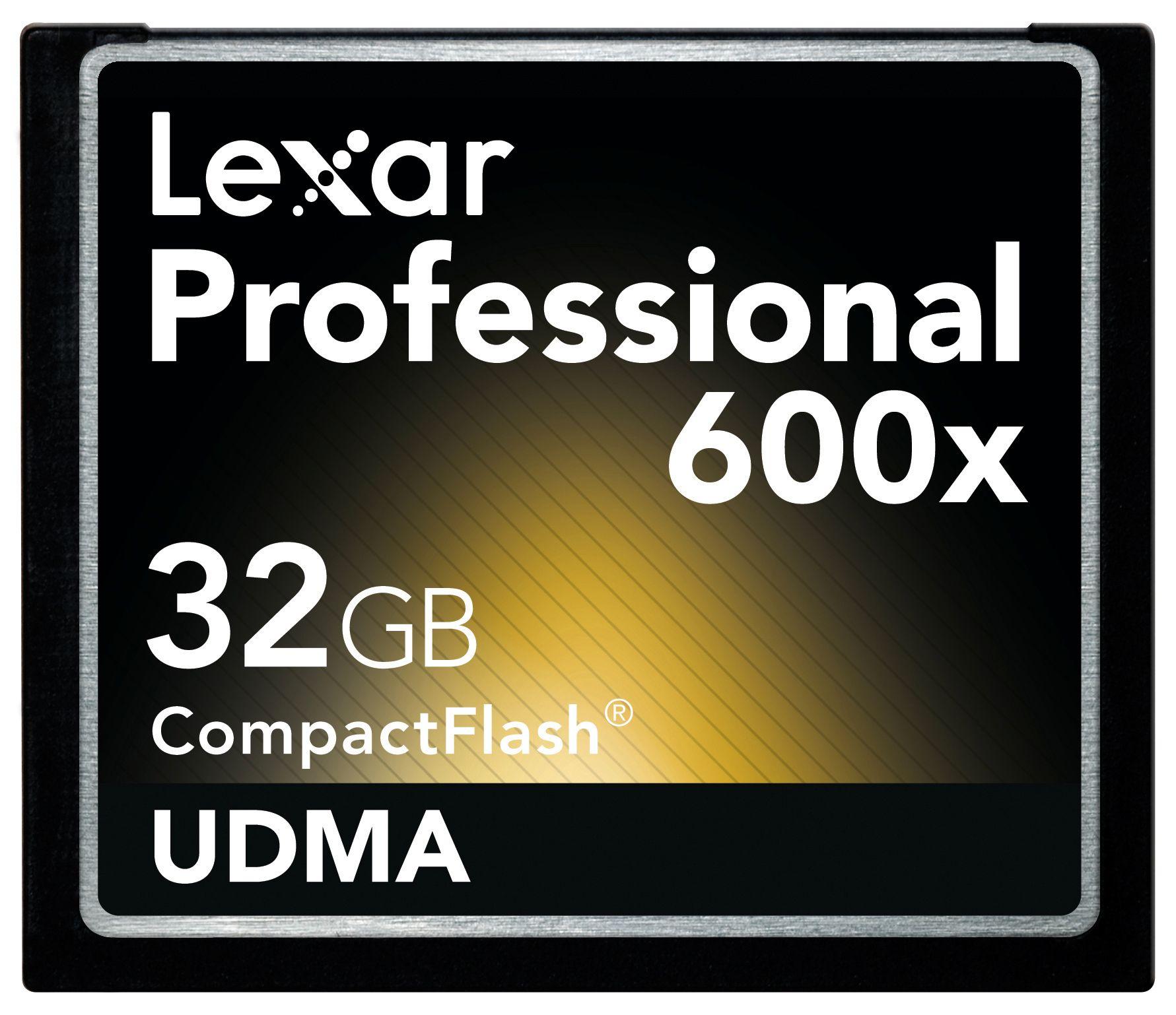 RASKEST: Lexars 32GB 600x gir en hastighet på 90MB/s. Men det tar vel ikke så lang tid før det kommer noe ennå større og raskere.