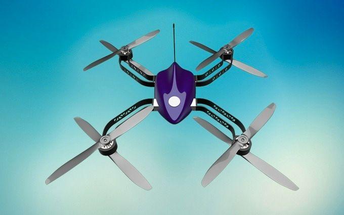 Den nye HYDRA-dronen. Foto: Kickstarter
