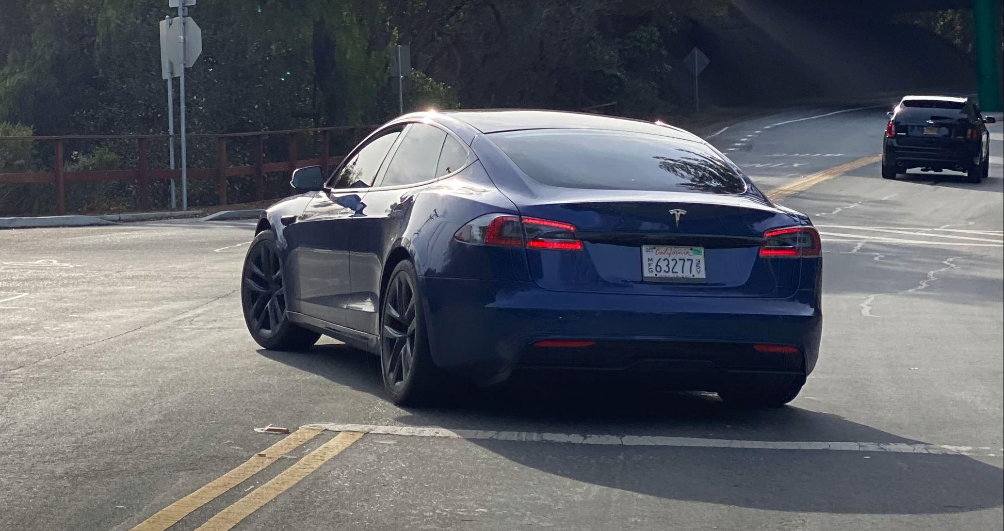 Er dette det nye utseendet til Model S?