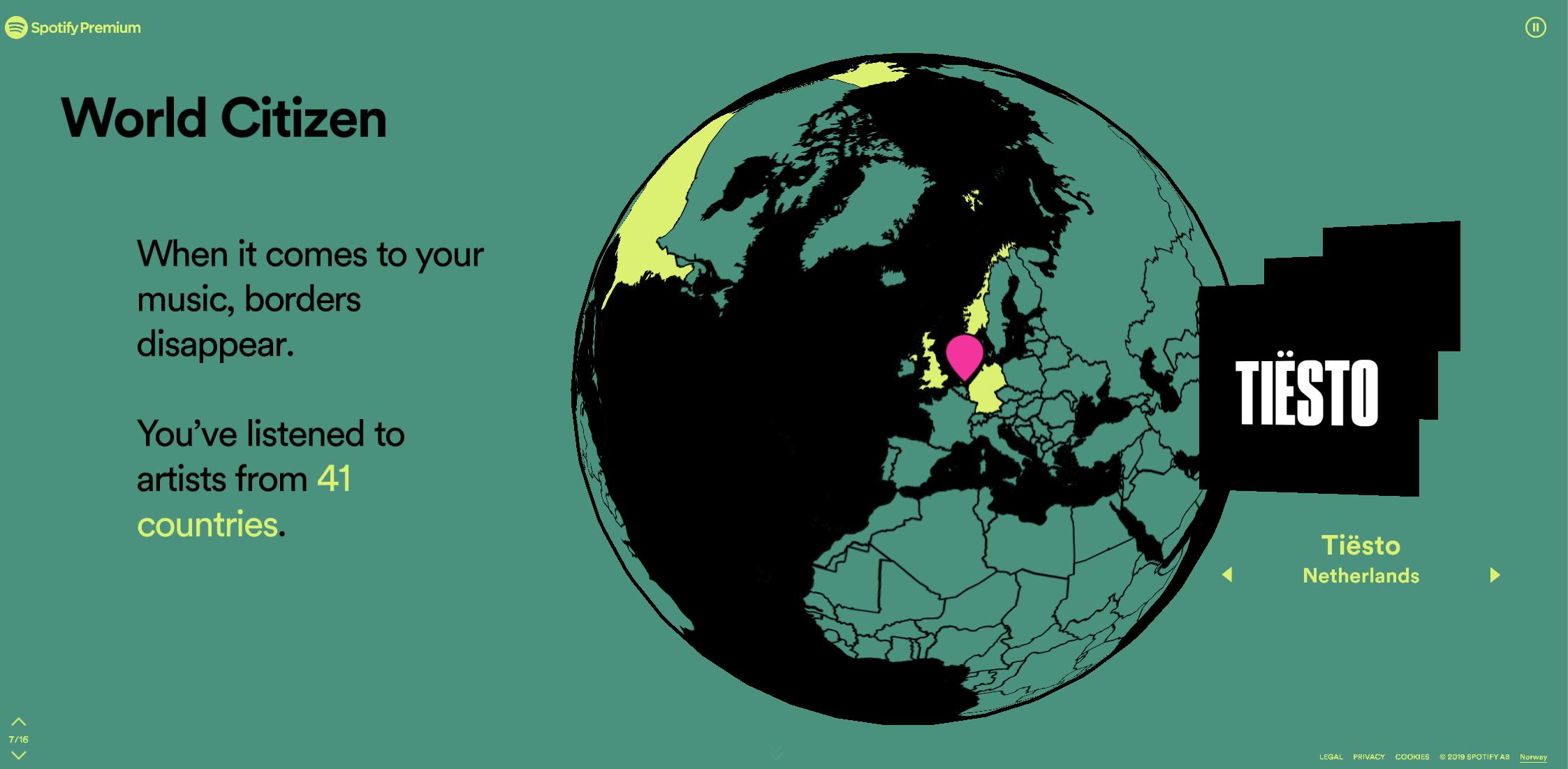 Nå er Spotifys oppsummering av musikkåret ditt klar