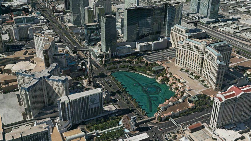 Las Vegas i full mundur.