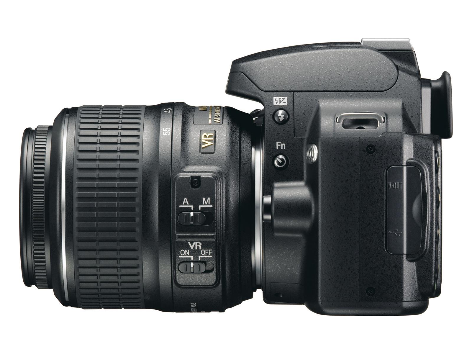 Nikon D60 med kitobjektiv
