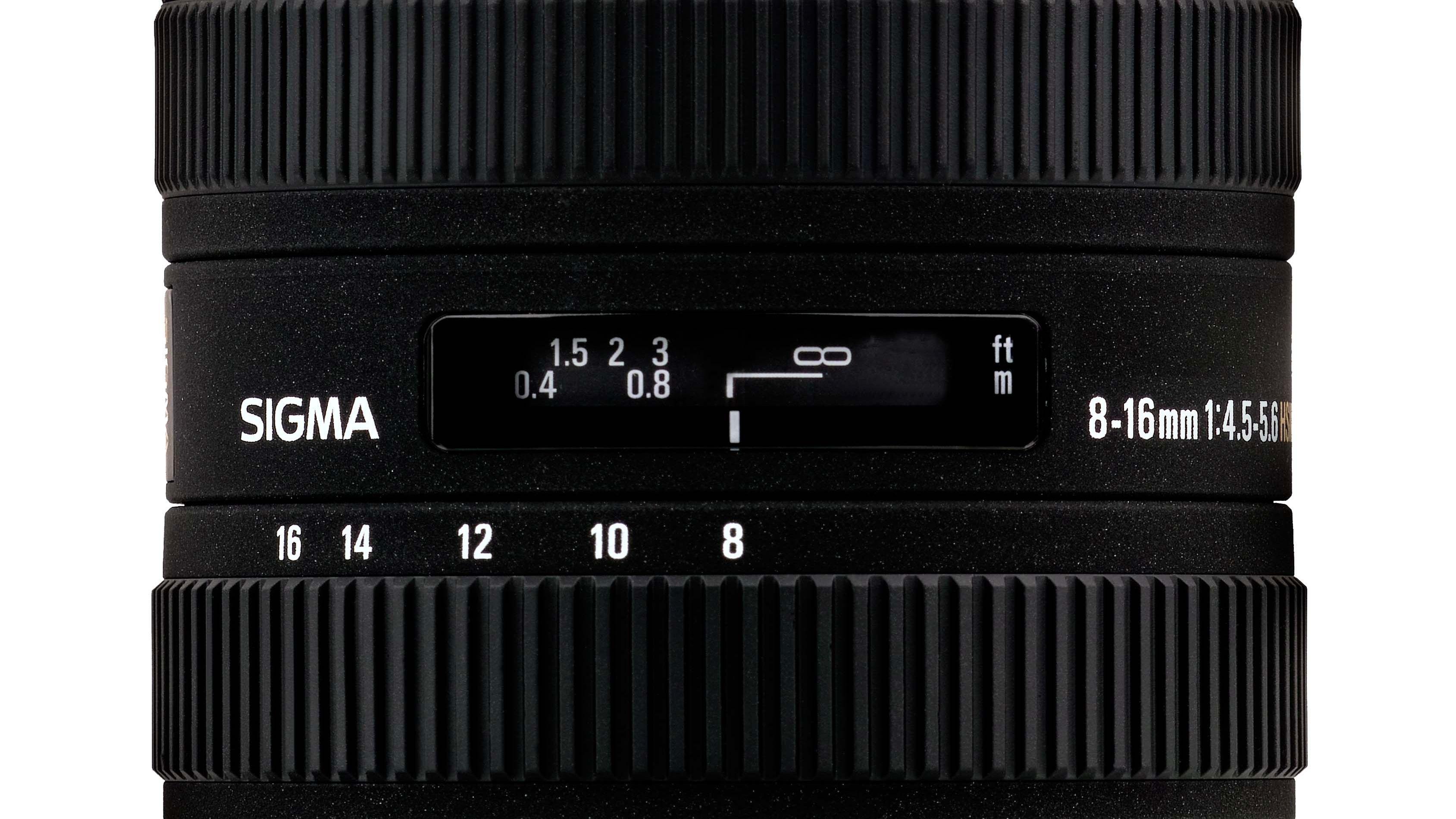 Sigma 8 - 16mm F4.5-5-6 DC HSM