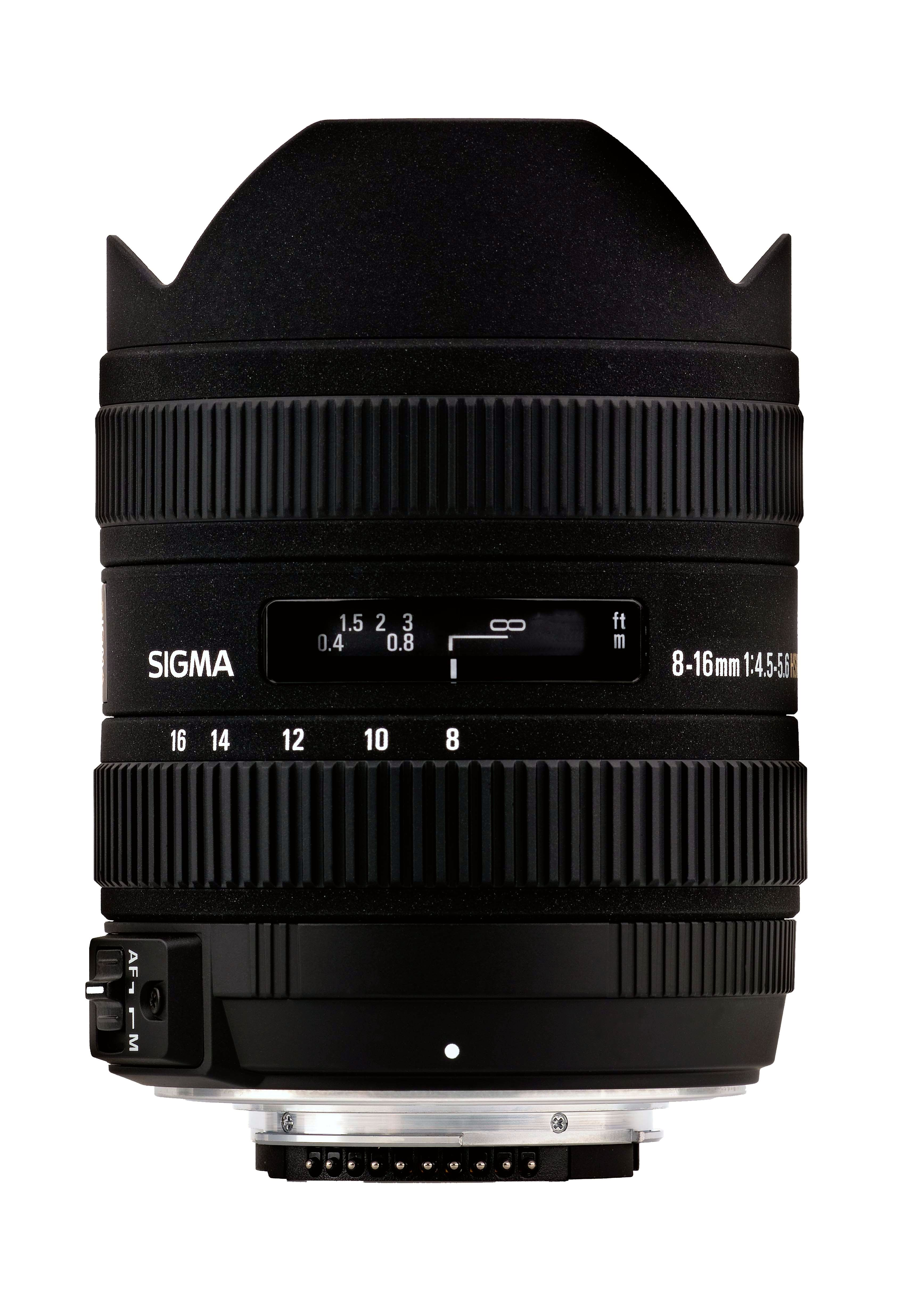 8-16mm F4.5-5-6 DC HSM for Canon.Foto: Sigma