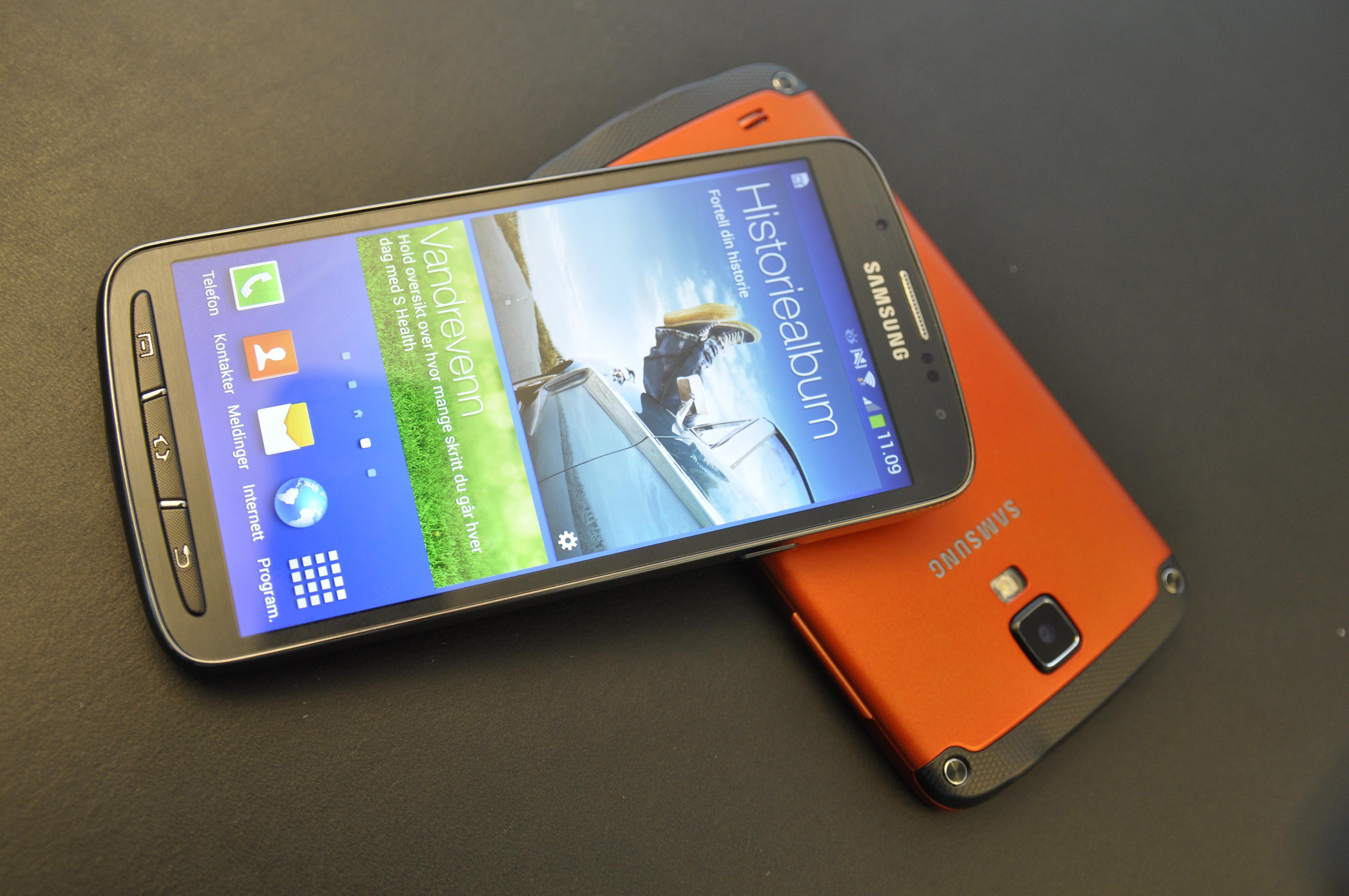 Samsung Galaxy S4 Active.Foto: Finn Jarle Kvalheim, Amobil.no