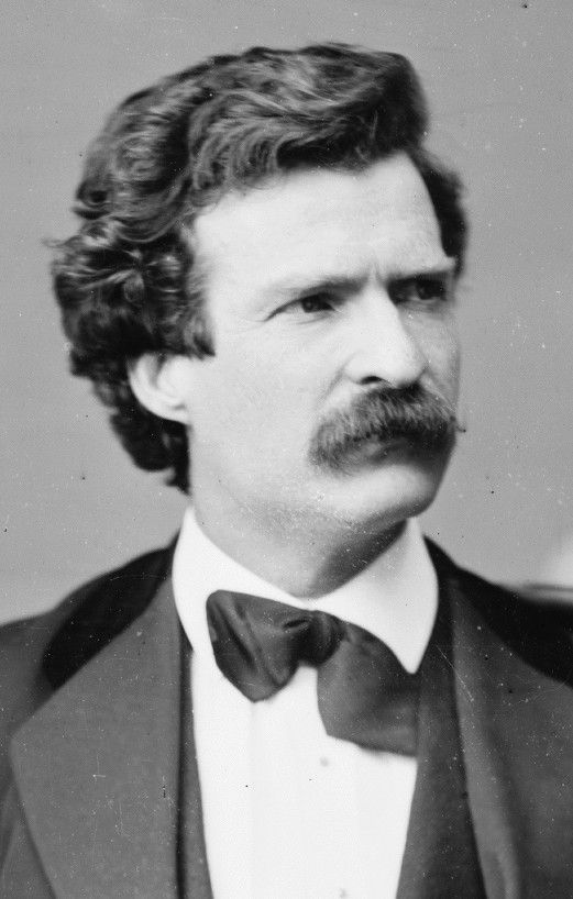 «A photograph is a most important document, and there is nothing more damning to go down to posterity than a silly, foolish smile caught and fixed forever.» - Mark Twain. (Foto: Mathew Brady, 1871)
