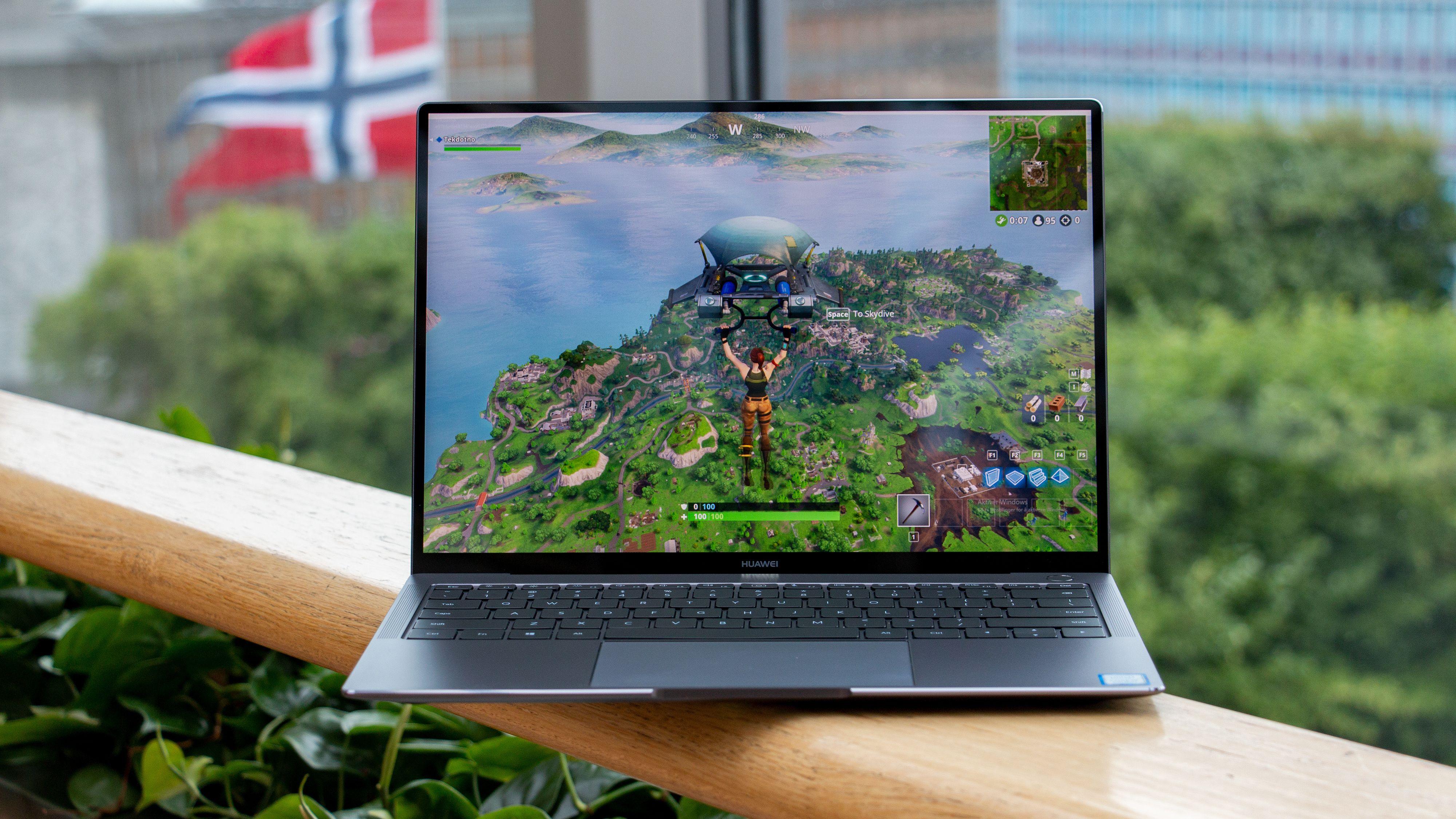 Huawei MateBook X Pro med MX150-grafikk