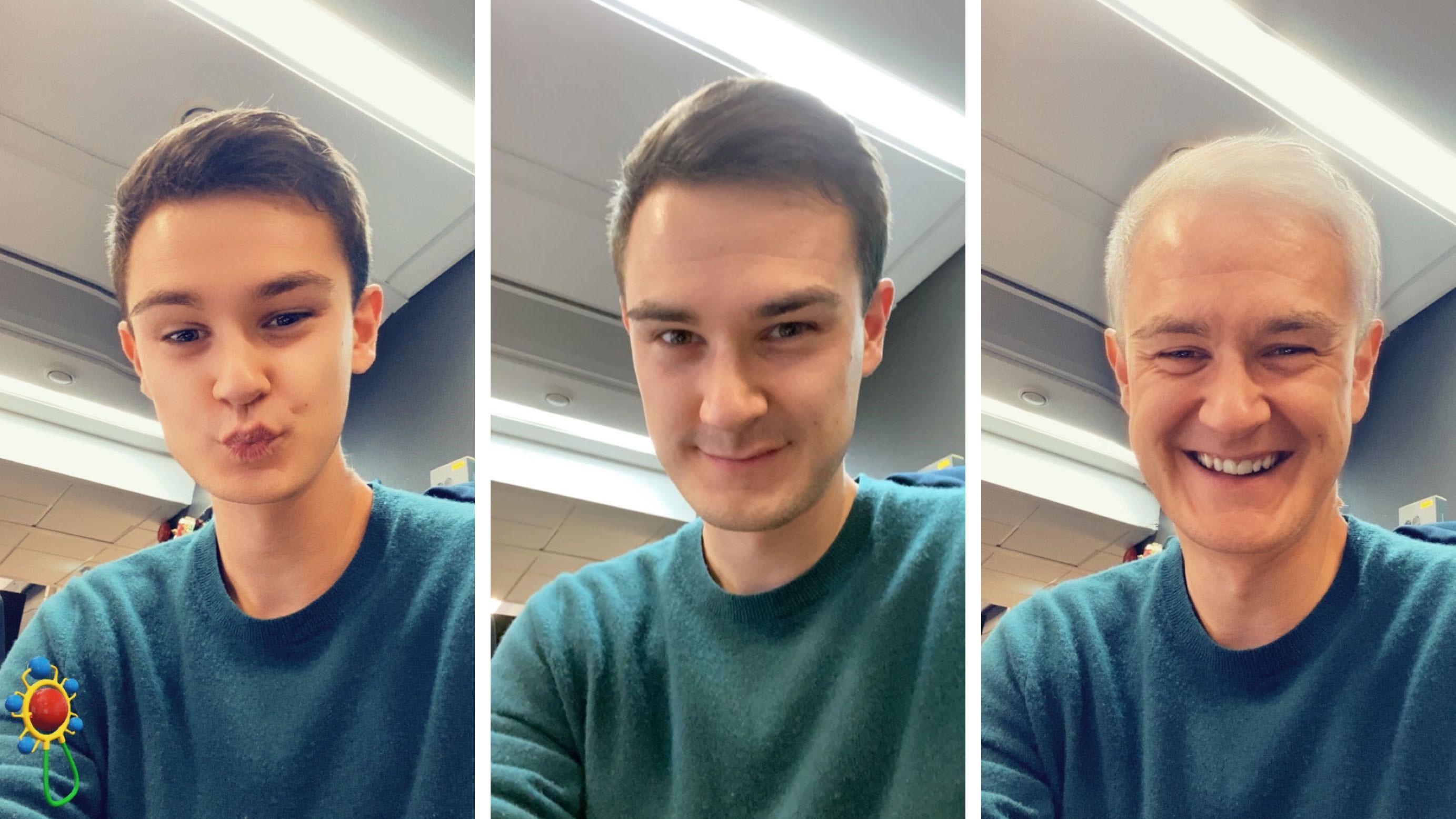 Snapchat kopierer FaceApp med nytt filter
