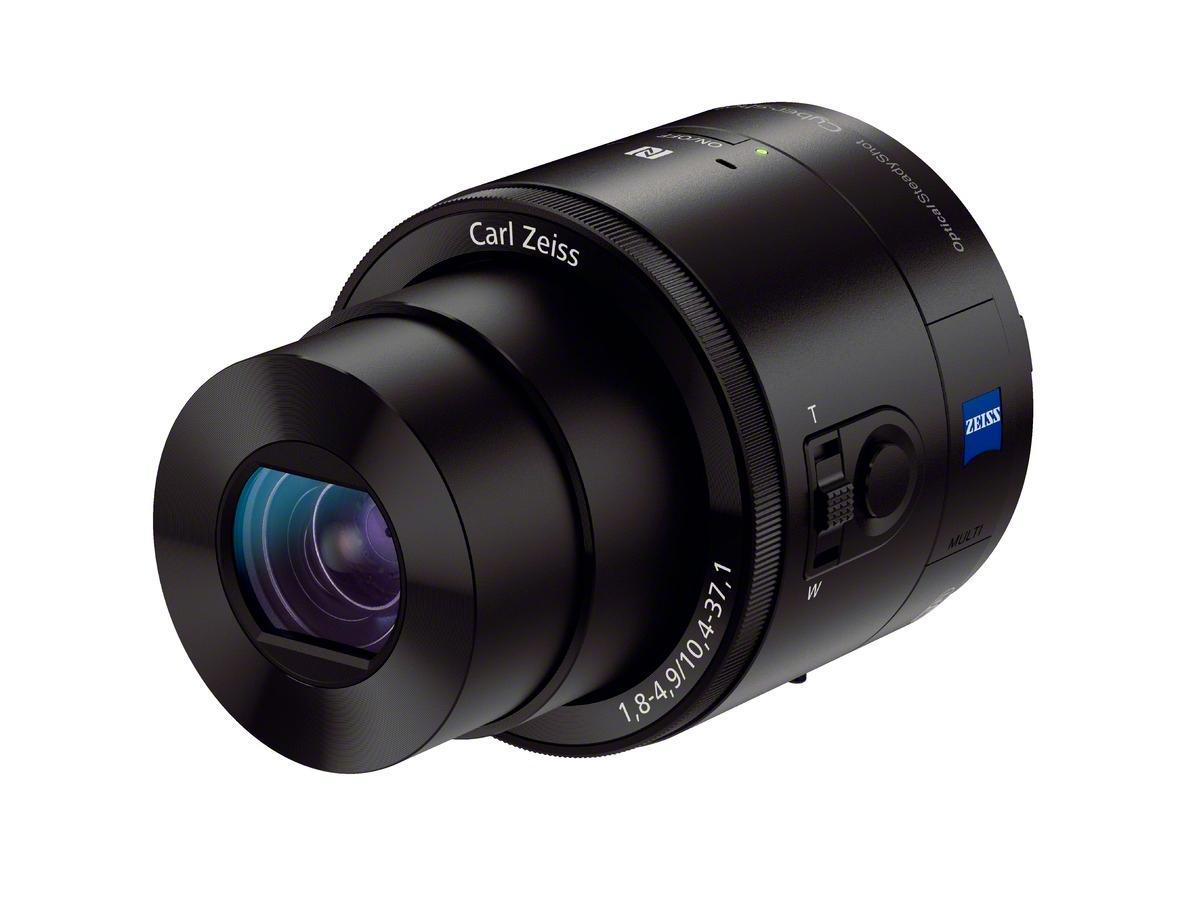 QX100 er en real klump.Foto: Sony