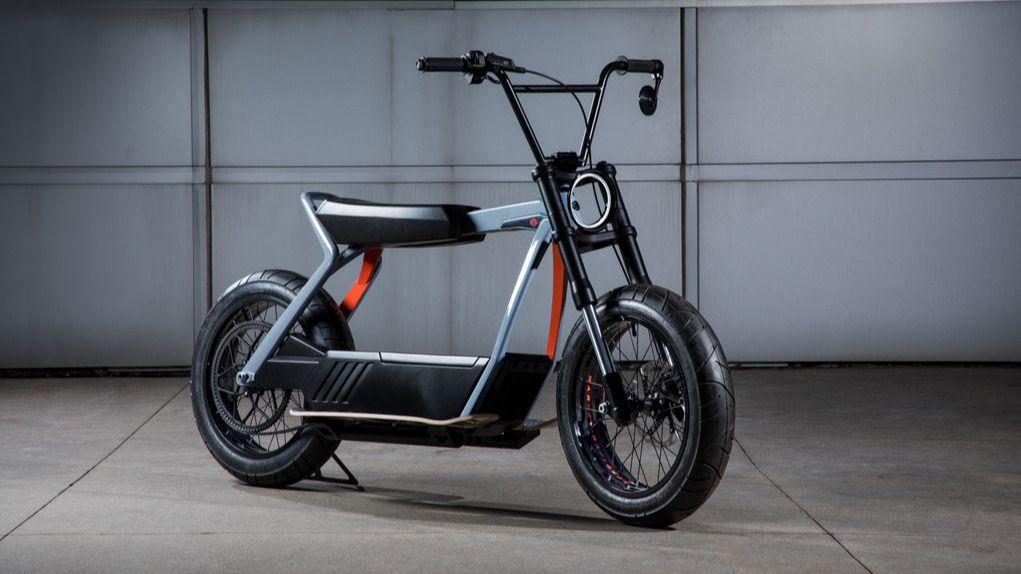 Dette er en Harley-Davidson elscooter
