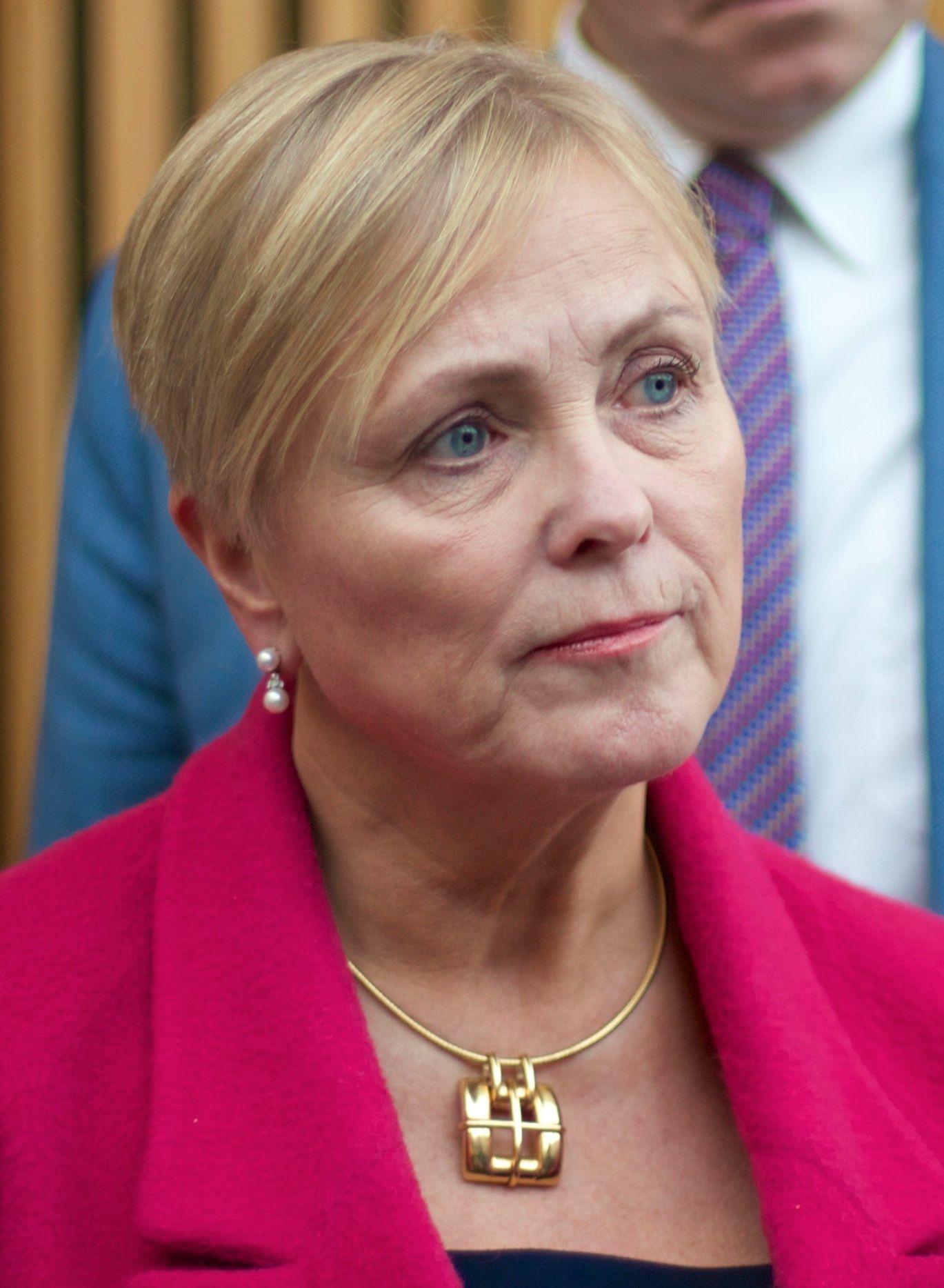 Kulturminister Thorild Widvey (Høyre). Foto: Stiftelsen Tinius (Flickr)