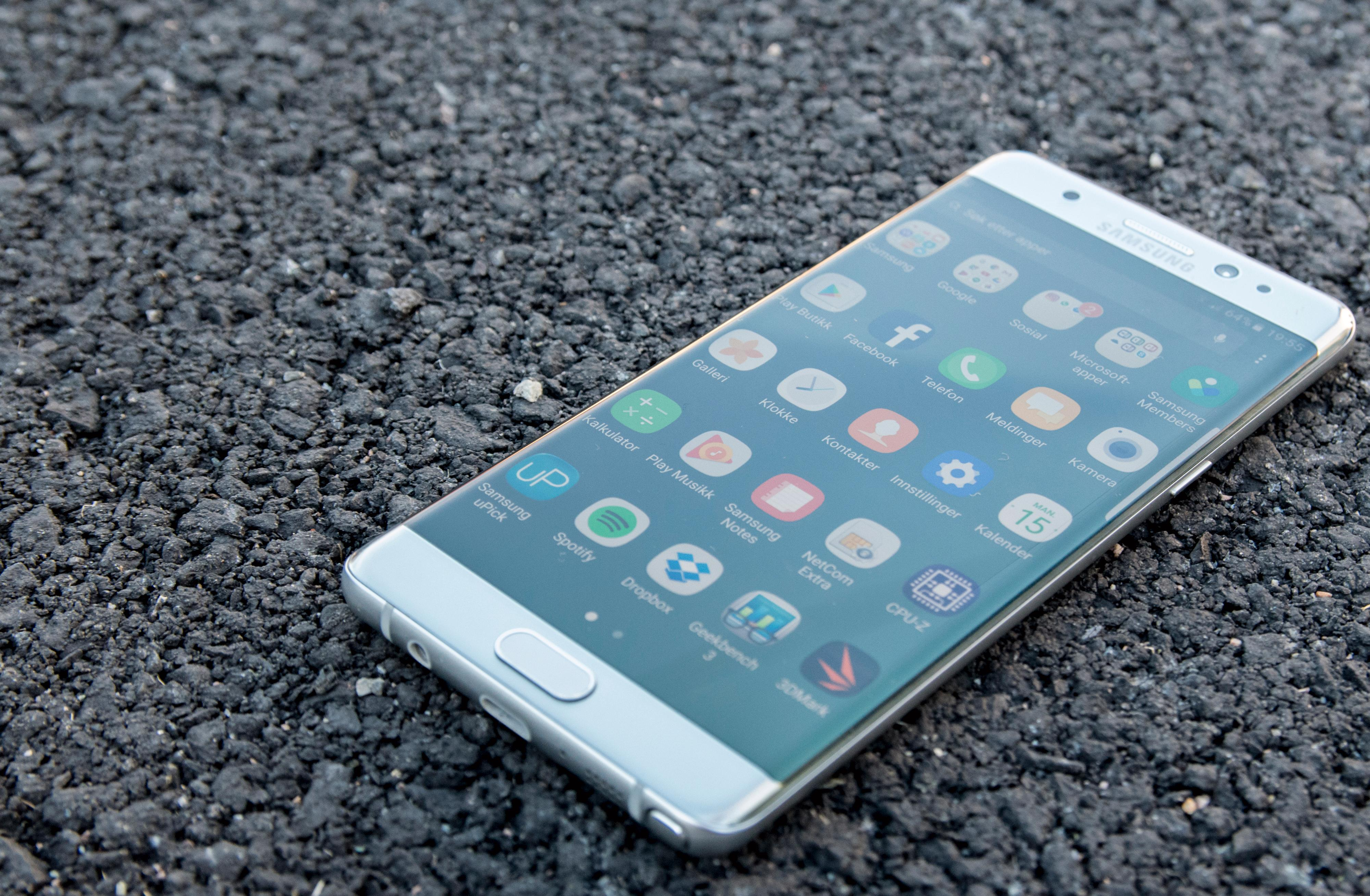 Galaxy Note 7 ble et av Samsungs største problemprodukter noensinne. Bilde: Finn Jarle Kvalheim, Tek.no