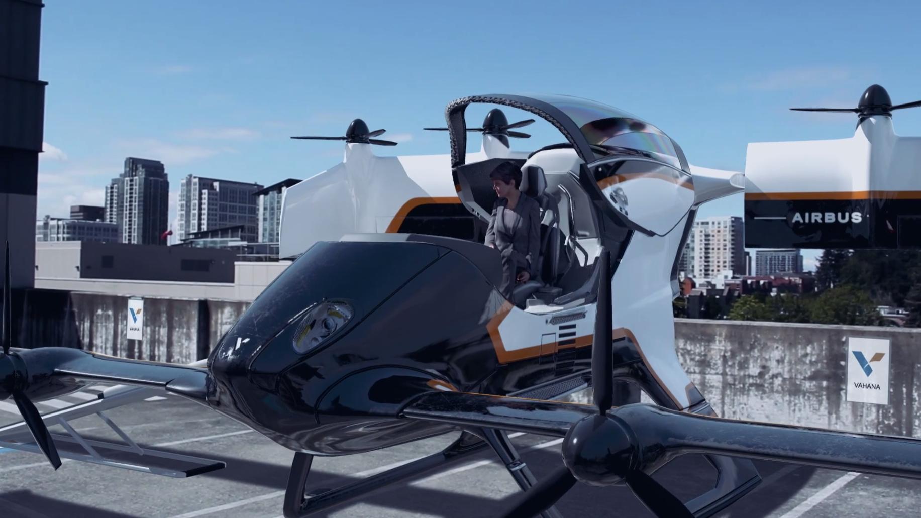 Slik skal du bruke Airbus' flyvende taxier