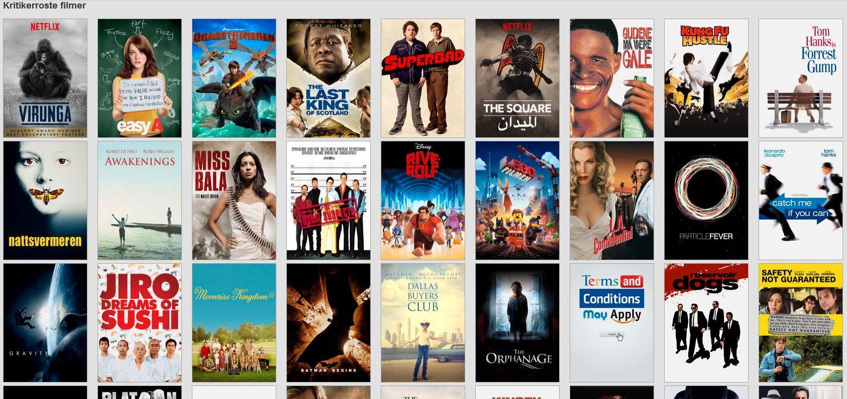 Mye enklere. Foto: Netflix