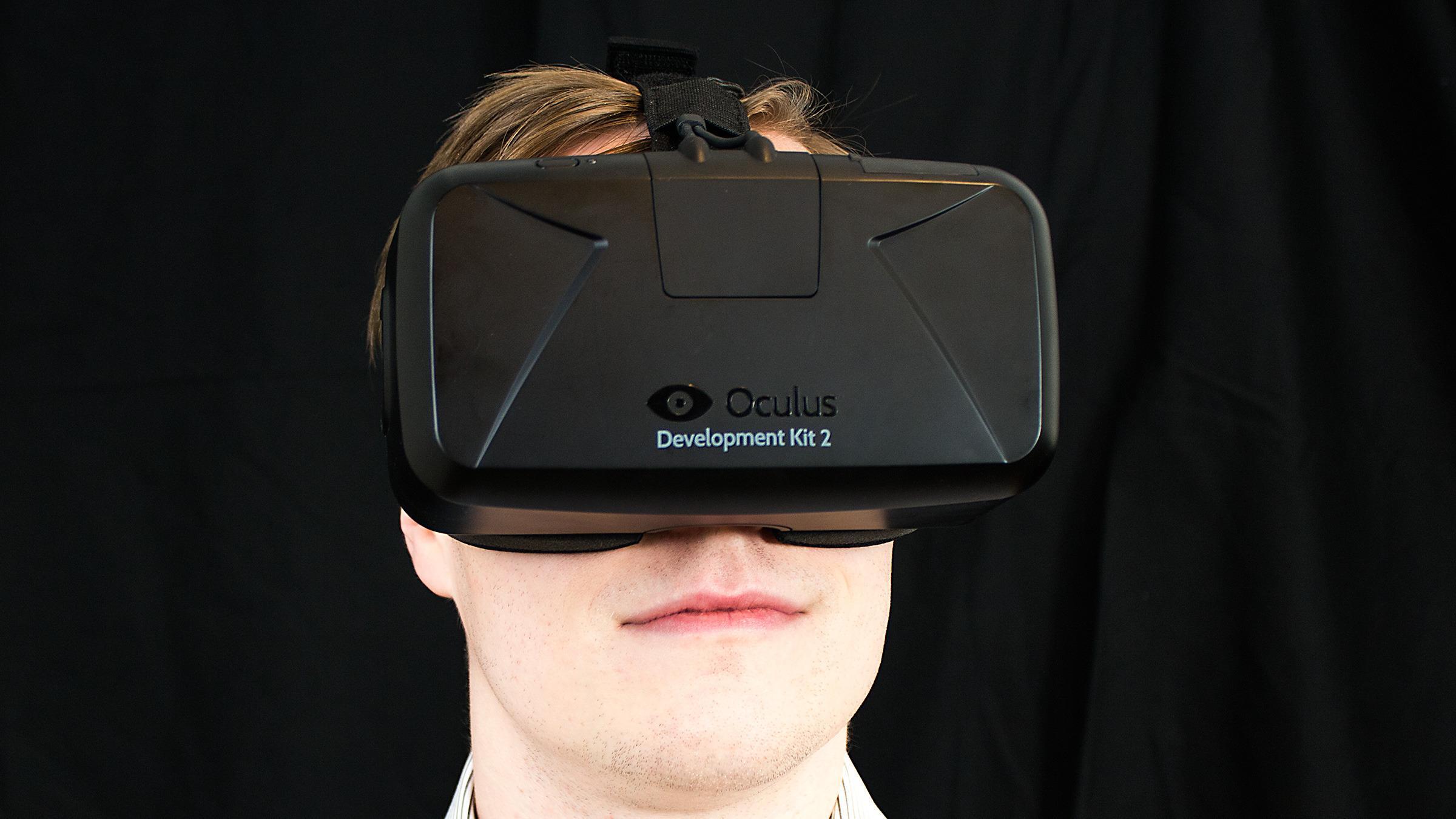 Fra vår test av Oculus Rift DK2.Foto: Varg Aamo, Tek.no