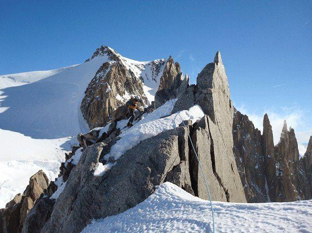 FTF på en cache plassert på Mont Blanc, tolv år etter at den ble lagt ut. Legges en ny geocache ut i Oslo-området er den nok funnet innen 20 minutter. Foto: DeepButi