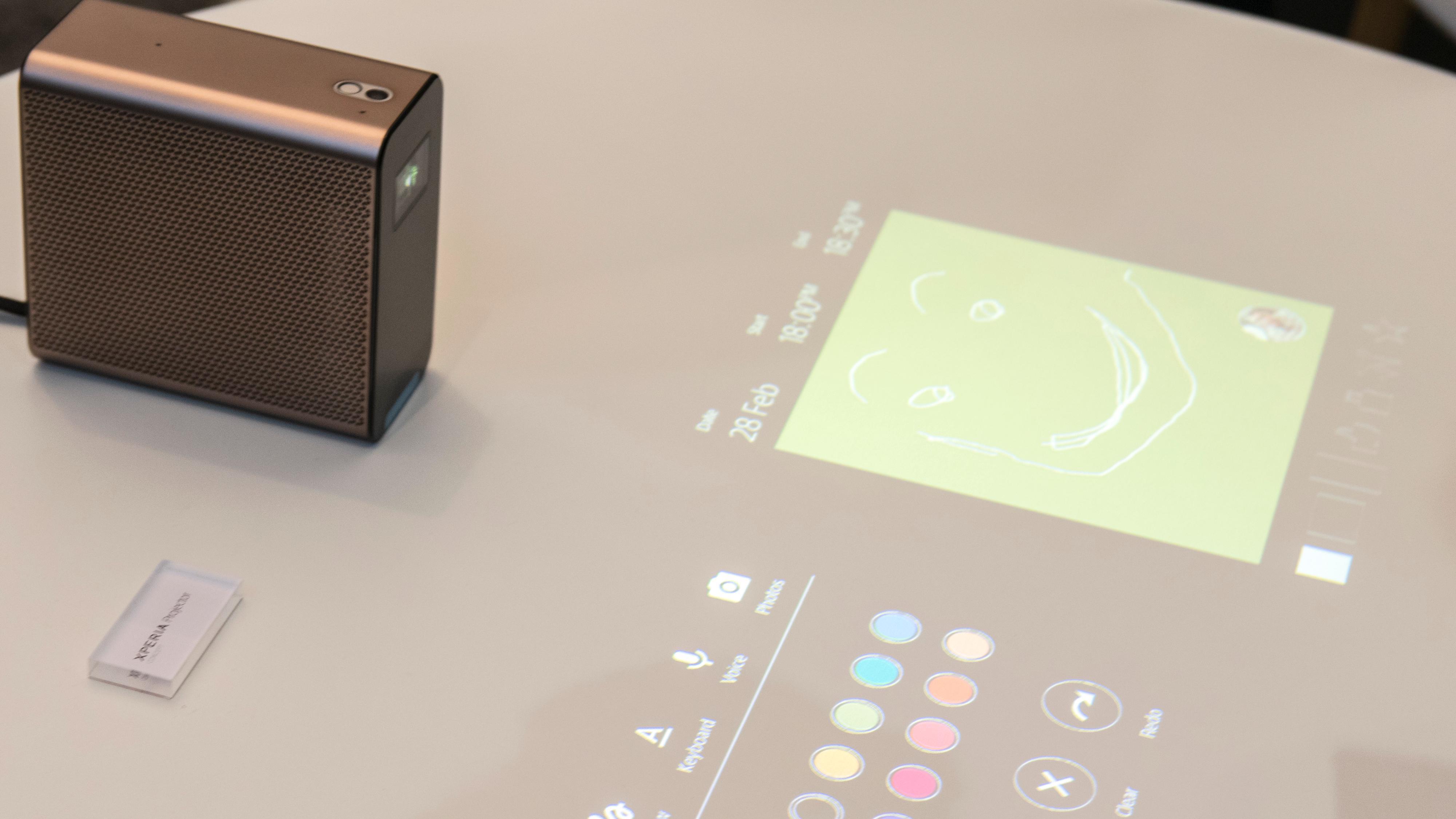Sonys nye projektor forvandler bordet ditt til en berøringsskjerm
