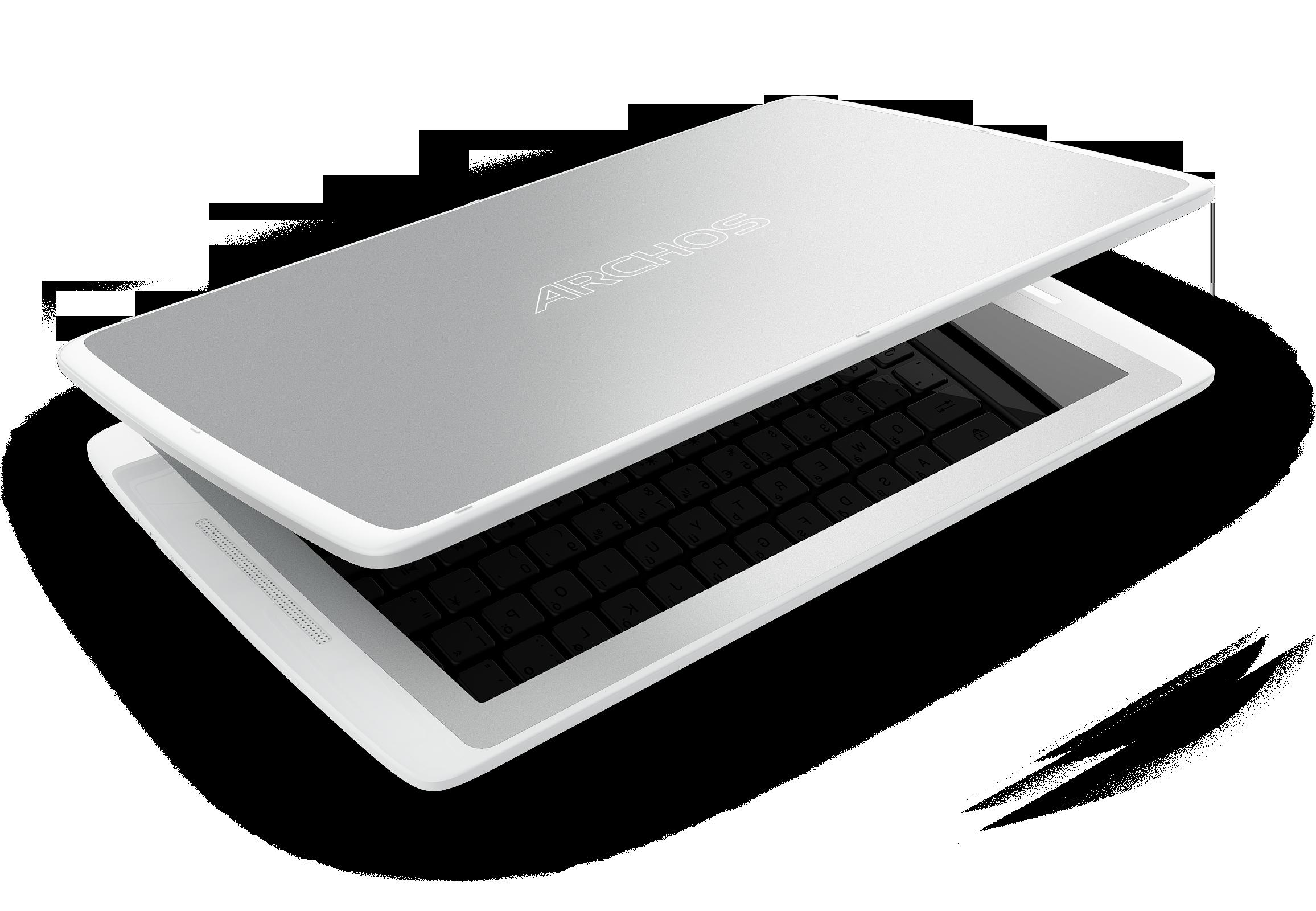 Når tastaturet ikke er i bruk fungerer det som beskyttelsesdeksel.Foto: Archos