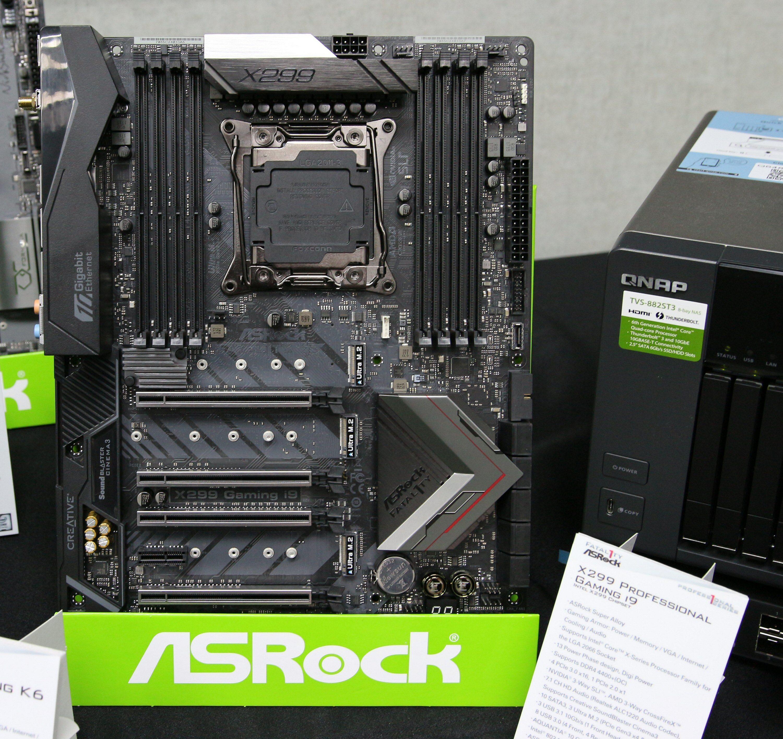 ASRock Fatal1ty X299 Professional Gaming i9 har en 10 gigabit LAN-port som for eksempel gir god fart mot en kjapp NAS.