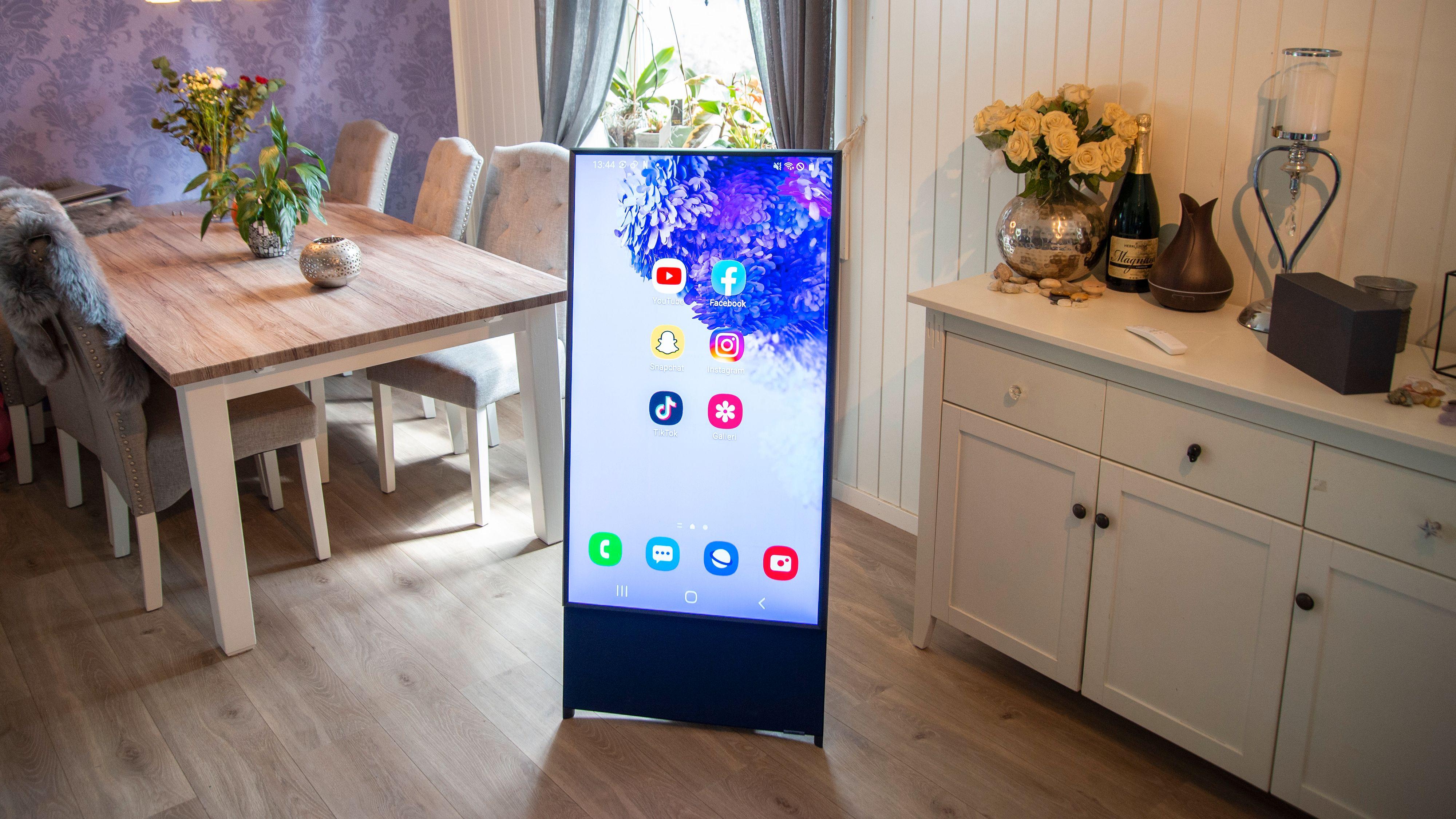 Samsung The Sero er en ganske uvanlig TV
