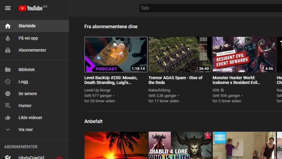 YouTube har åpnet for nedlasting av videoer