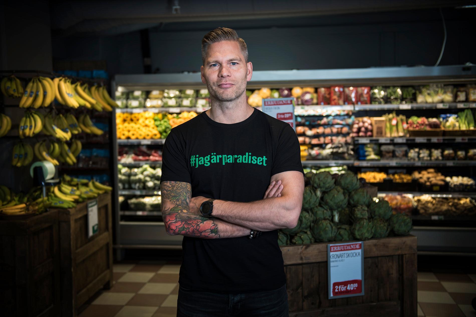 Johannes Cullberg är vd och grundare av hälsomatbutiken Paradiset.