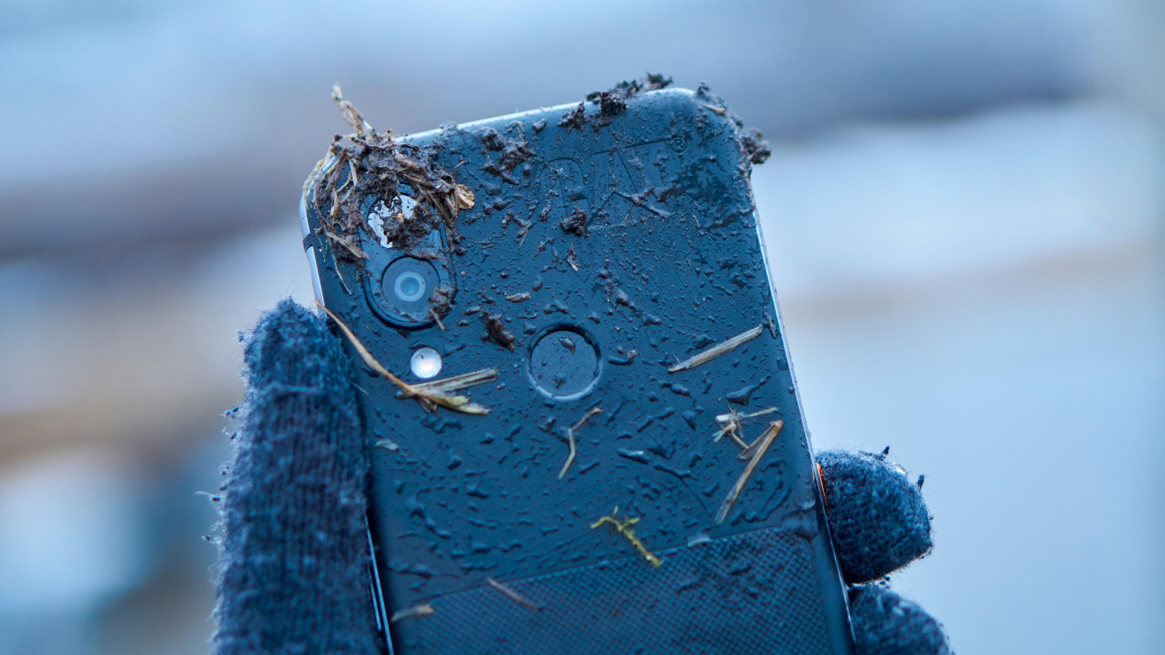 Kameraet er også godt beskyttet av gummi og plast.