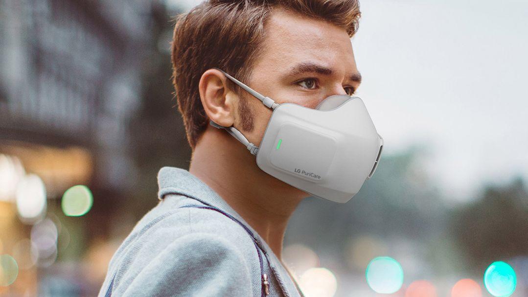 Denne «smart»-masken skal være lettere å puste gjennom