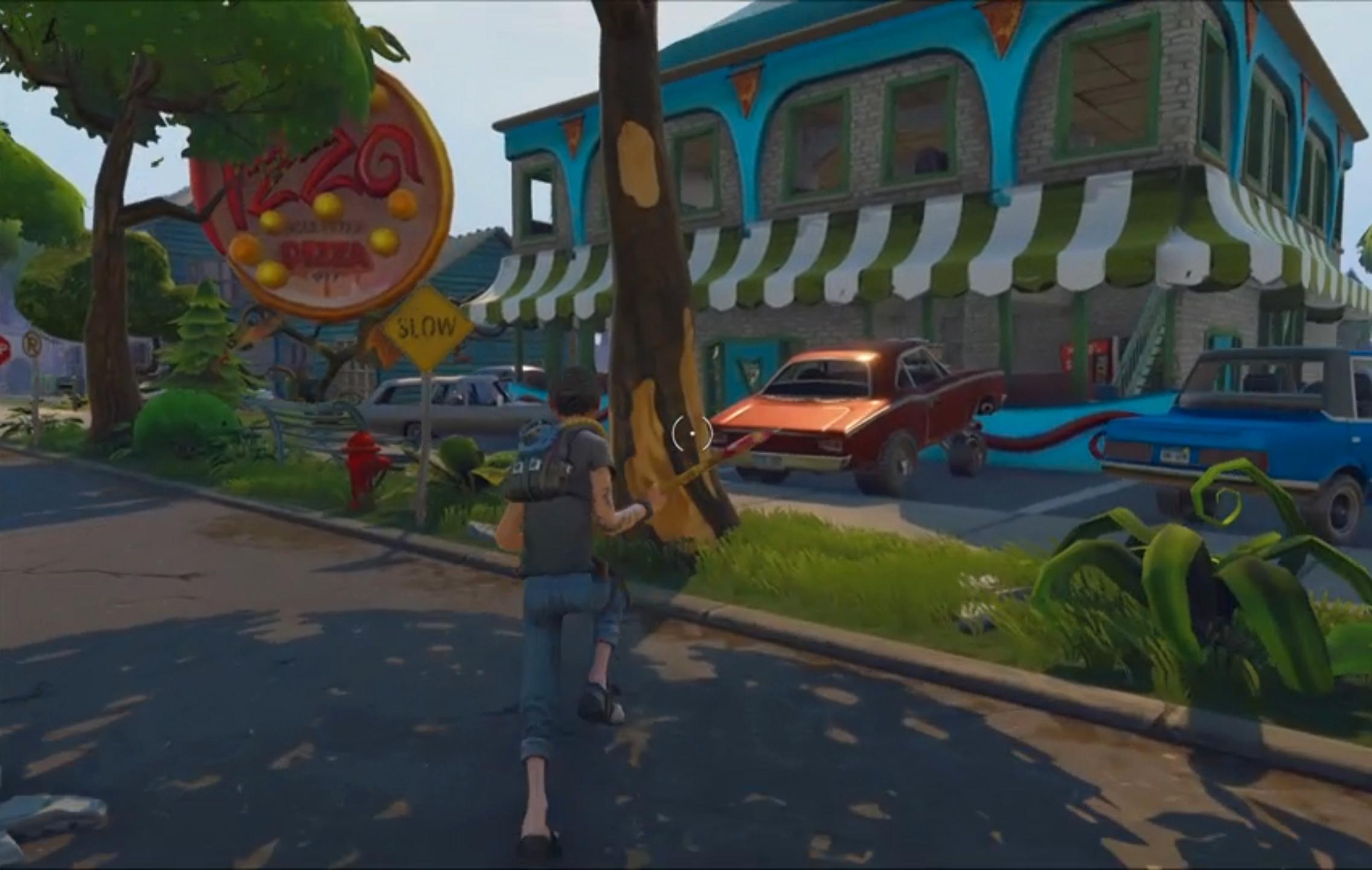 Epic Games viser frem Fortnite, basert på Unreal-motoren og Metal.