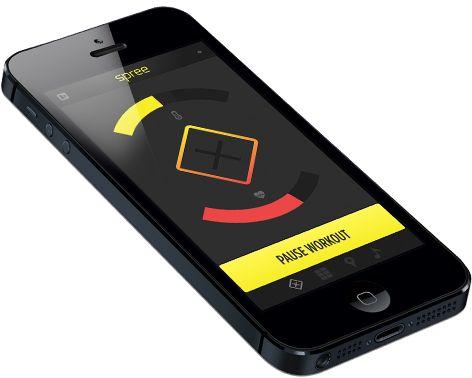 iPhone-appen varsler deg hvis du ikke klarer å holde hodet kaldt. .Foto: Hothead Technologies