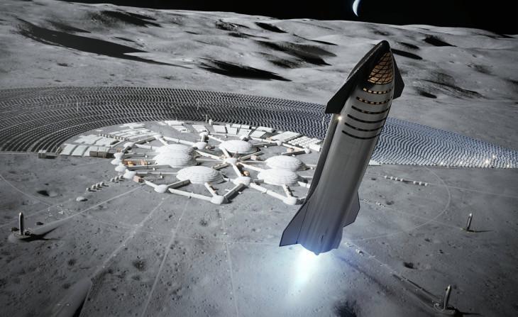 Konseptbilde av Starship.