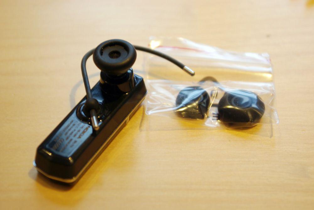 Med i pakken får du øreputer i forskjellige størrelser.
