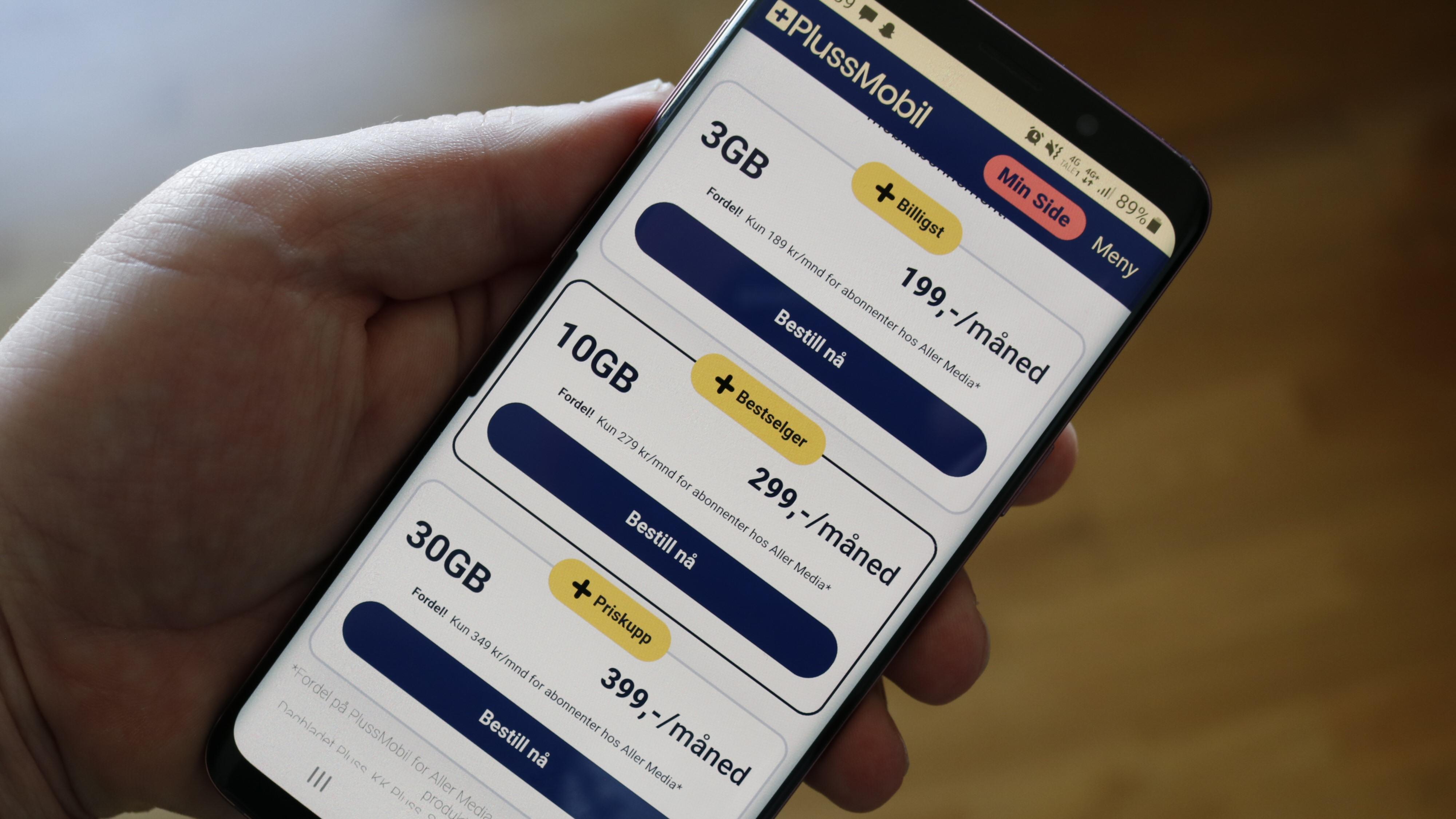Med PlussMobil skal Aller Media ta andeler i mobiloperatørmarkedet.