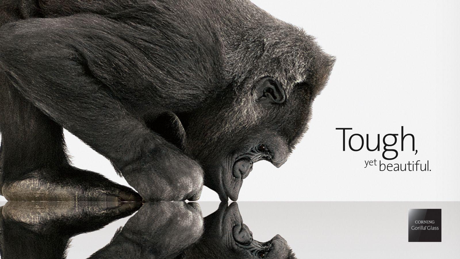 Frem til i dag har det vært Cornings Gorilla Glass vi har hørt mest om. Nå ser det ut til at mobilbransjen beveger seg mot safirglass.Foto: Corning
