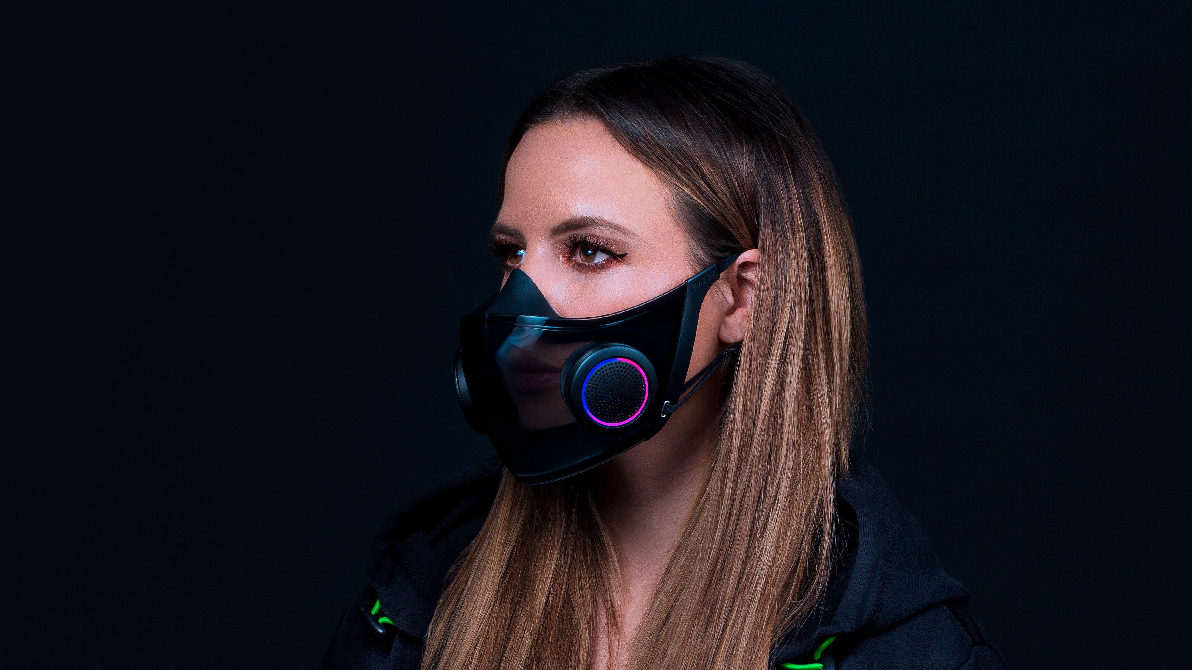 Razers «Project Hazel» er en ansiktsmaske med en del teknologi innebygget.
