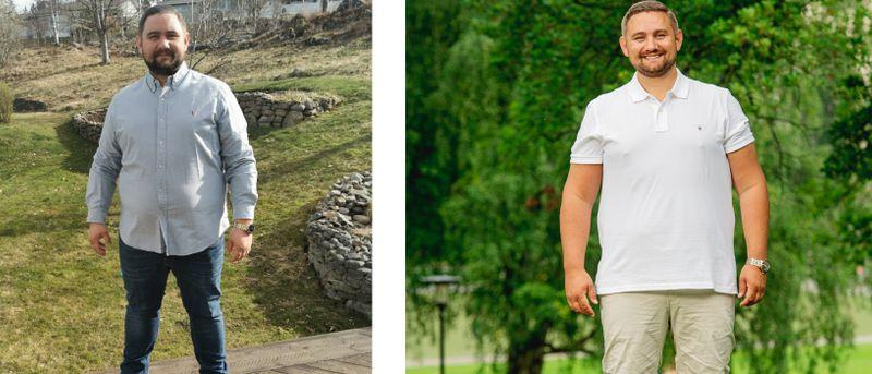 Magnus gick ner 21.5 kilo – på 90 dagar