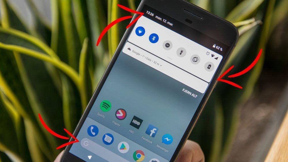 Android P har gjort et par justeringer.
