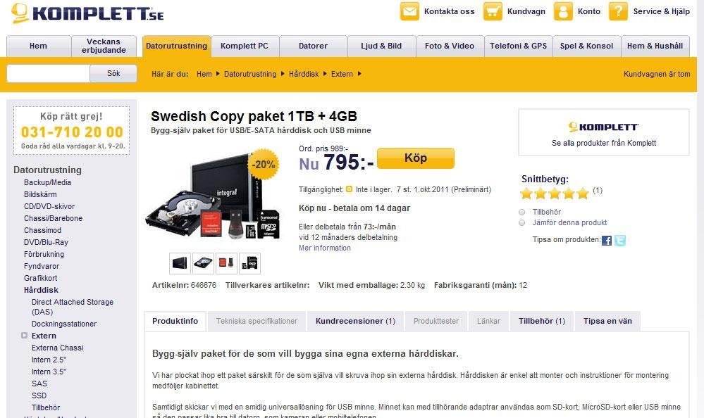 Faksimile, Komplett.se (klikk for større versjon)